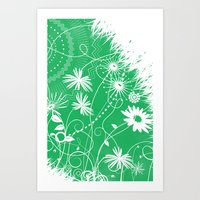 Big Green One Art Print