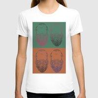 popart T-shirts featuring Socrates Beard PopArt by Britbee CokerMoen