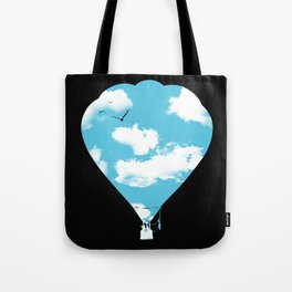 sky balloon Tote Bag
