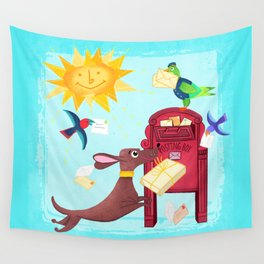 Special Delivery Wall Tapestry