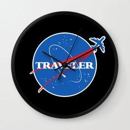 Interstellar Traveler Wall Clock