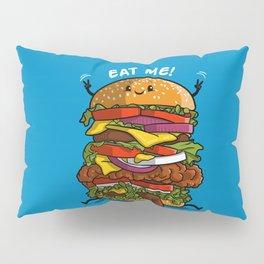 Eat my burger Pillow Sham