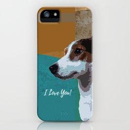 I love you. iPhone Case