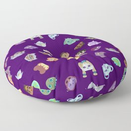 A Mix of Paladins Floor Pillow