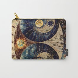 Lunar Phases Celestial Map Carry-All Pouch