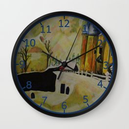 PtLY 1 Ode to Chagall Wall Clock