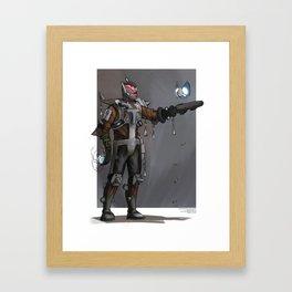 Boom Hunter Framed Art Print