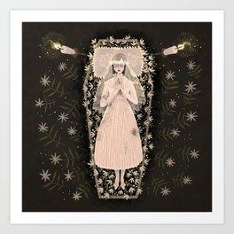 The Dead Bride Art Print