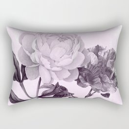 roses in purple and pink Rectangular Pillow