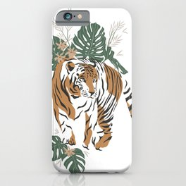 Magic Jungle Composition Tiger iPhone Case