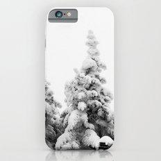 Snow Covered Pines Slim Case iPhone 6s