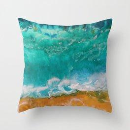 Ocean's Bliss Throw Pillow