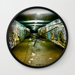 Graffitiophile Wall Clock