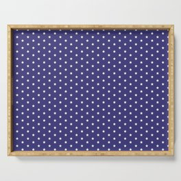 dotted pattern variation with stars Serving Tray