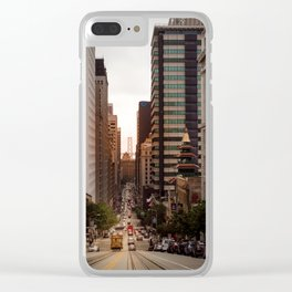 Lingering in San Francisco Clear iPhone Case