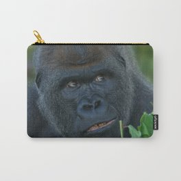 Silverback Got His Eye One Some More Leaves Carry-All Pouch