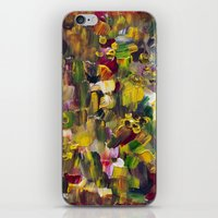 gustav klimt iPhone & iPod Skins featuring Fantasy about Gustav Klimt by Lucid Infinity Art and Design