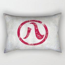 Nagoya 名古屋 Distressed Rectangular Pillow
