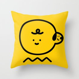Charloopy Throw Pillow