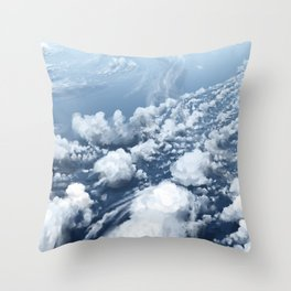Air Brush Throw Pillow