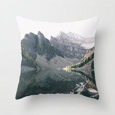 Lake Agnes Throw Pillow