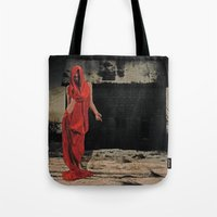 welcome Tote Bags featuring Welcome by Galen Valle