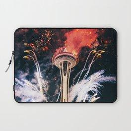Seattle Space Needle Celebration Laptop Sleeve