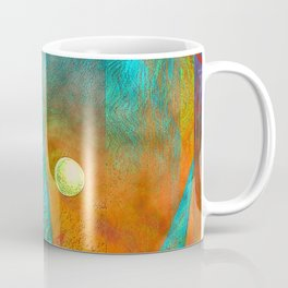 Colorful Mermaid Tail Coffee Mug