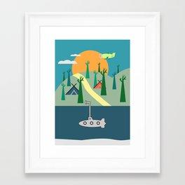 Outdoors Framed Art Print