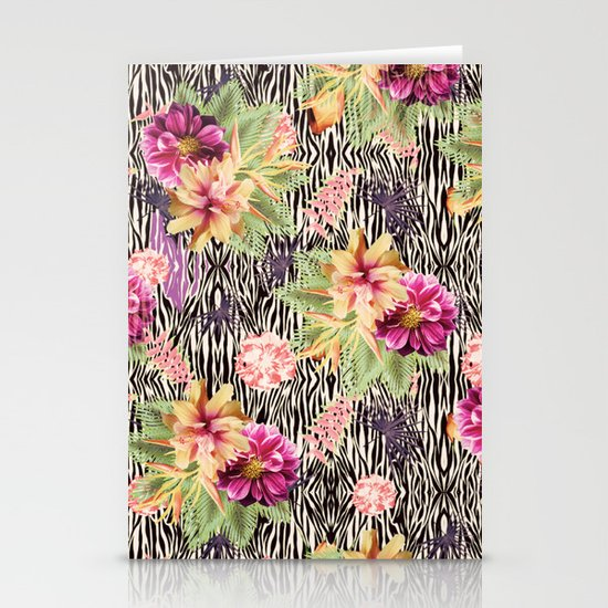 TROPICAL FUSION Stationery Cards