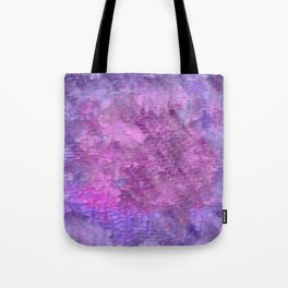 Pink and purple rough texture Tote Bag