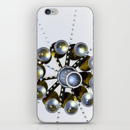 Odd time iPhone Skin