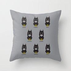 Men of Bats Throw Pillow