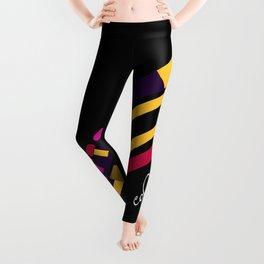 colorful sound Leggings