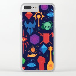 DnD Forever - Color Clear iPhone Case
