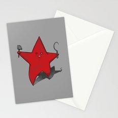 Zombie Star Stationery Cards