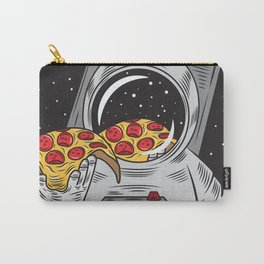 Spaceman Eating Pizza Carry-All Pouch