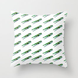 Clothespin Throw Pillow