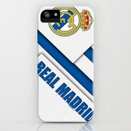 Real Madrid My Best Football Team iPhone Case