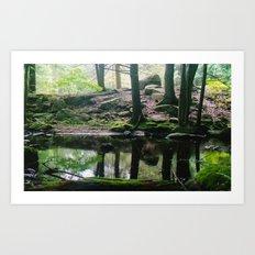 Green CT (Film) Art Print