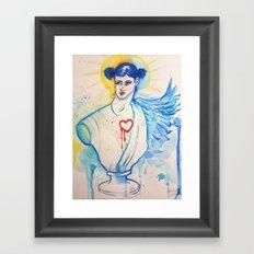 Bloo Angel Framed Art Print