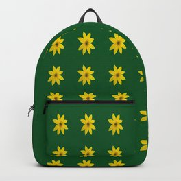 Coreopsis Pattern Backpack