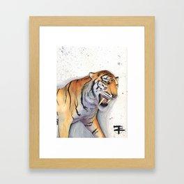Strength of the sabor Framed Art Print
