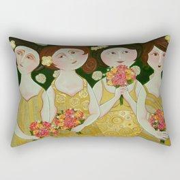 Bridesmaids Rectangular Pillow
