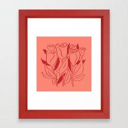 Rosey Life Framed Art Print
