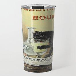 Vintage poster - Absinthe Bourgeois Travel Mug