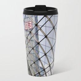 train station - glass - Berlin Travel Mug