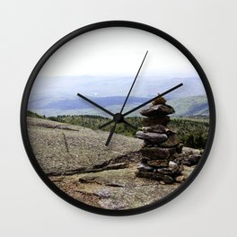 Mountain Carin 2 Wall Clock