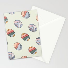 Colourful Easter Egg Stationery Cards