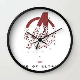 Age of Ultron (Falling into pieces) Wall Clock